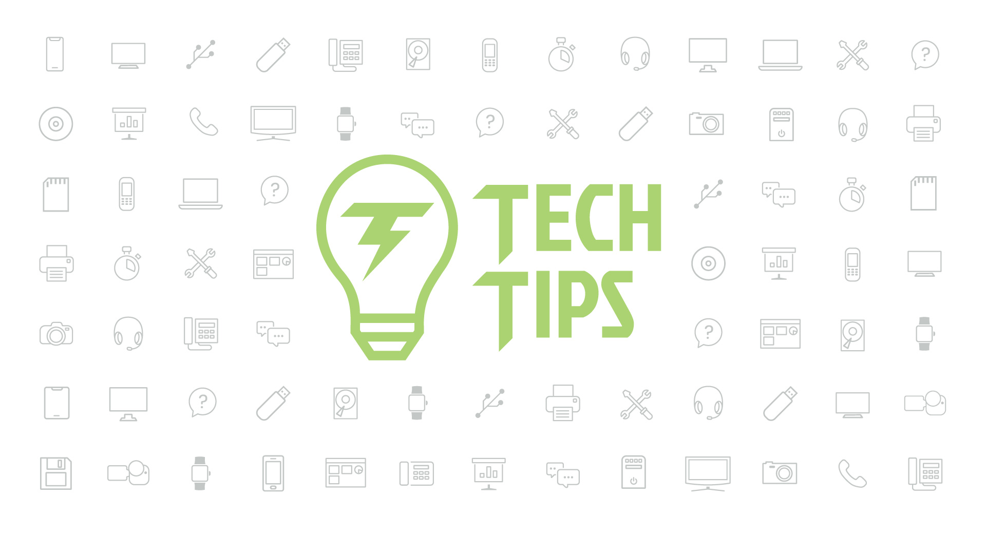 Technology Tips: May 2020 Edition